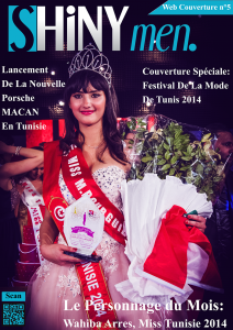 shinymen-web_couverture_n5-Wahiba_Arres-Miss_Tunisie_2014