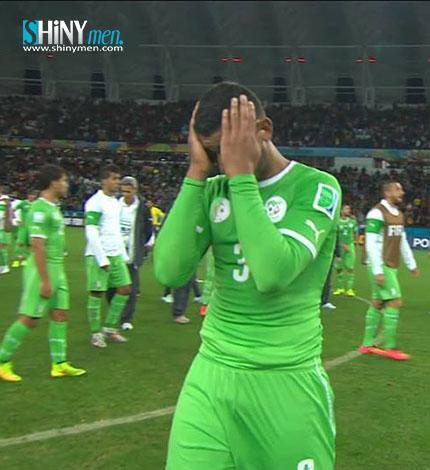 Coupe du monde 2014 l alg rie quitte le mondial la t te haute shinymen - Algerie allemagne coupe du monde 2014 ...