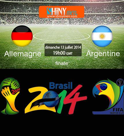 Coupe du monde br sil 2014 allemagne vs argentine formation probable shinymen - Equipe argentine coupe du monde 2014 ...