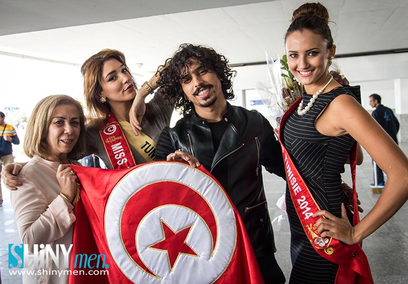 shinymen- Miss International Tunisia 2015, Wahiba Arres-couv