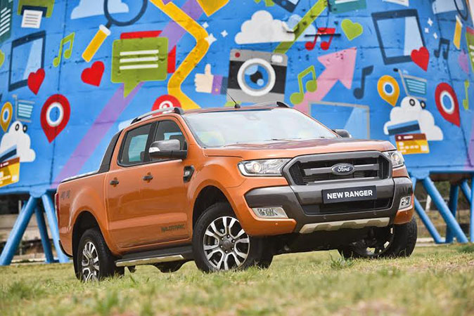 shinymen-nouveau Ford Ranger Pick-up-couv
