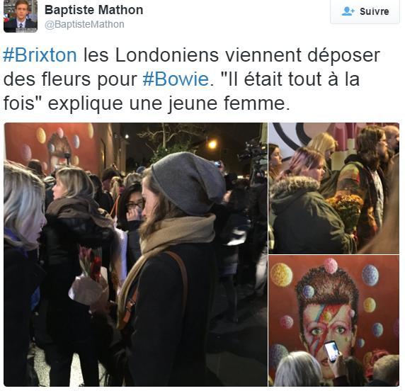 Fans Bowie memorial - shinymen