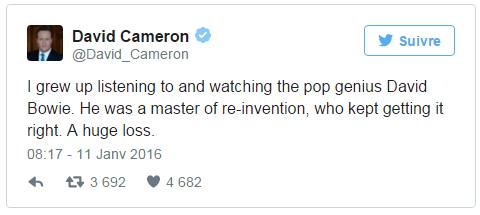 david cameron tweet bowie- shinymen