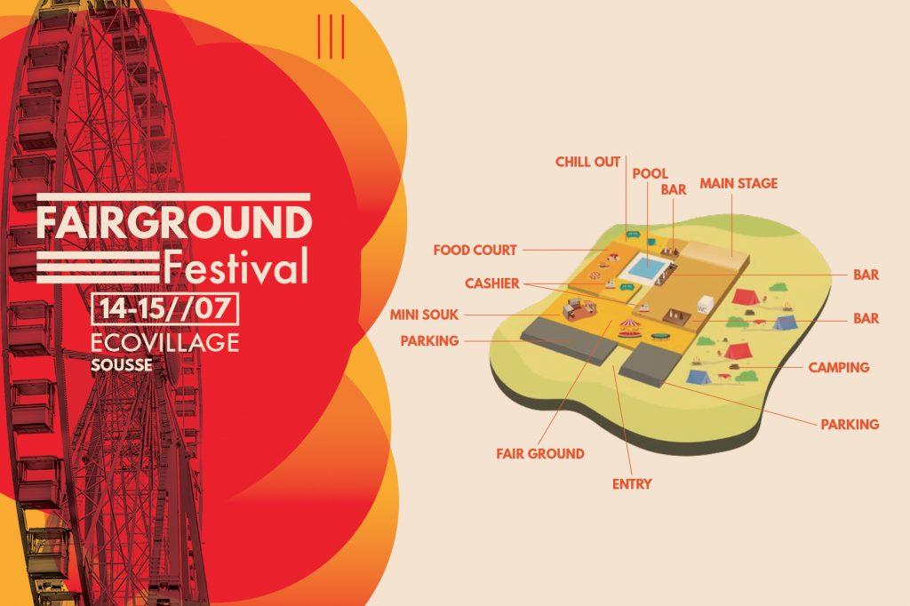 Plans-fairground