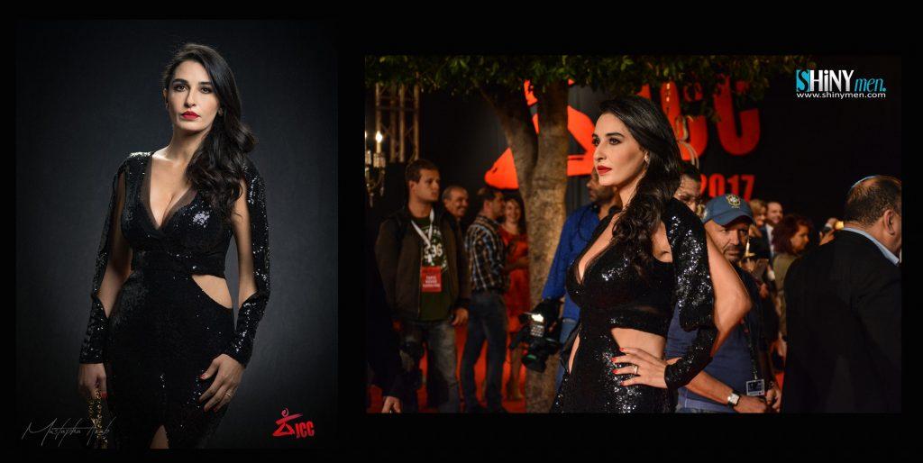 Fatma Nasser dans une robe Rano ModaBeyrouth. (JCC 2017)