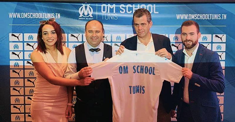 Lancement du programme OM School Tunis