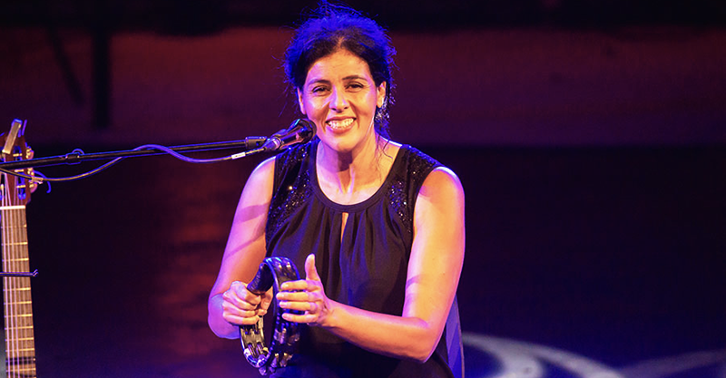 Souad Massi au festival international de Hammamet 2019