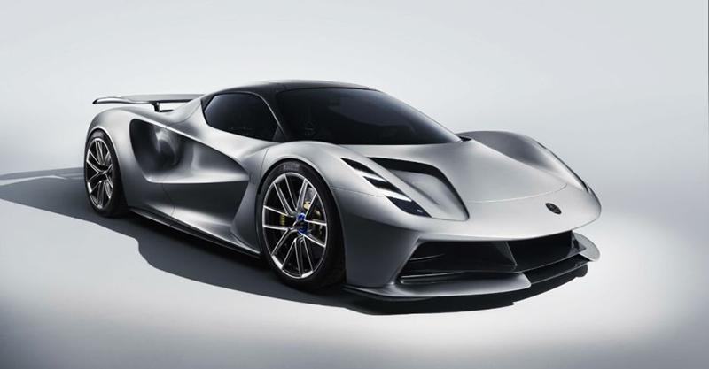 Lotus Evija : une hypercar électrique de 2000 ch