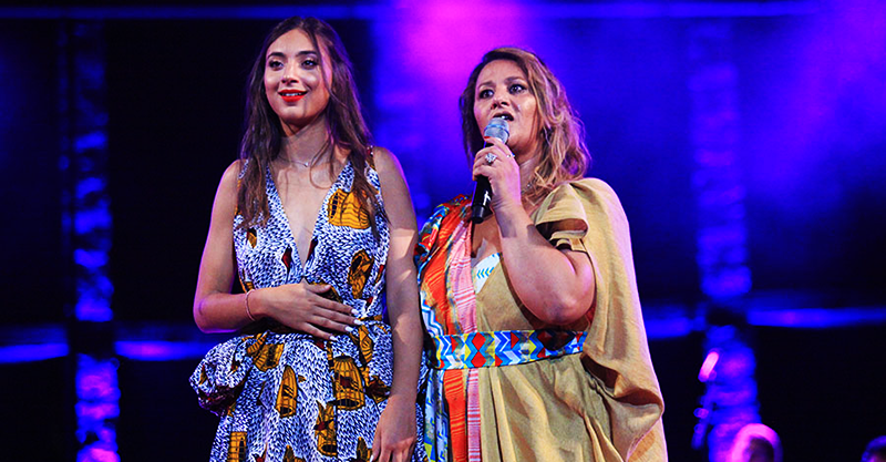 Festival International de Hammamet 2019 - Soirée de clôture avec Amina Fakhet en compagnie de sa fille Molka