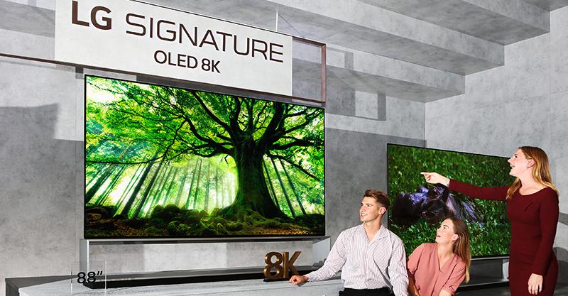 En Marge de L'IFA 2019: LG annonce le lancement des premiers téléviseurs 8K OLED au monde, ainsi qu'une gamme étendue de moniteurs gaming.