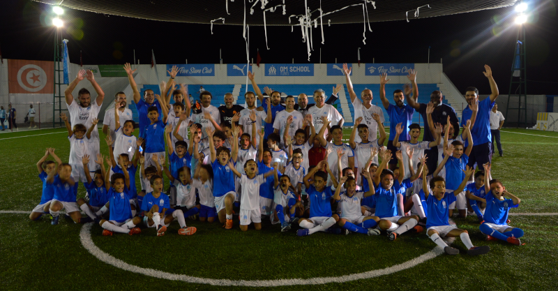 Inauguration de l'OM School Tunis